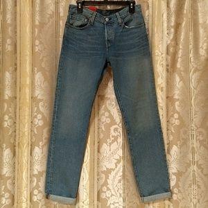 🆕 Levi's 501® Original Fit Trapped Leg Jeans